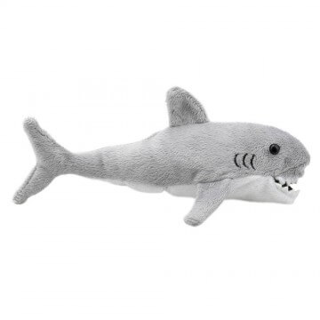 Finger puppet baby shark