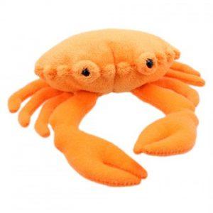 Finger puppet crab