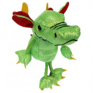 Finger puppet dragon