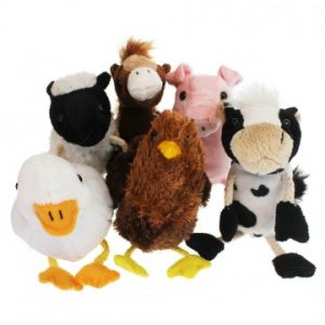 Finger Puppet farm set
