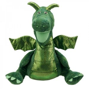 Green Enchanted Dragon Hand Puppet