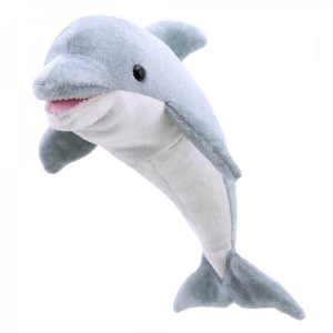 large dolphin finger puppet