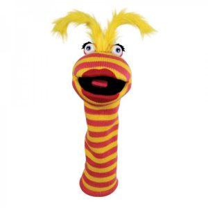 Lipstick Sockette hand puppet company