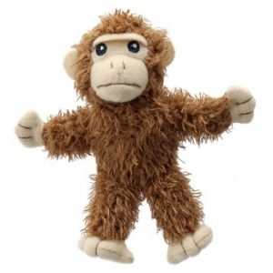 Finger puppet monkey puppet
