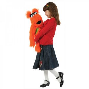 Orange monster puppet company