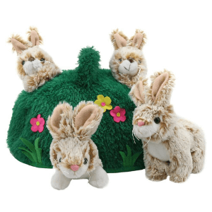 Rabbit hill finger puppet set hideaway