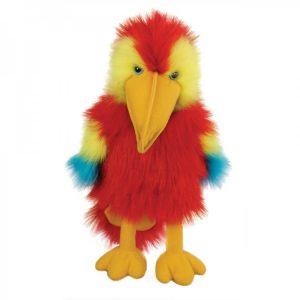 Baby Scarlet Macaw Bird puppet