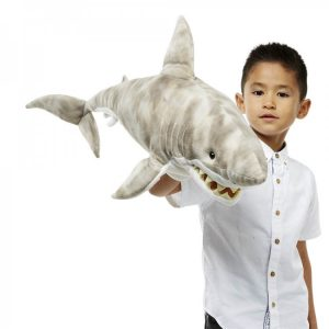 Large creature shark puppet company