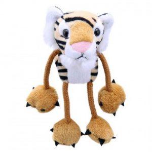 Finger puppet tiger