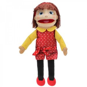 Tilly Girl Puppet Medium Light Skin