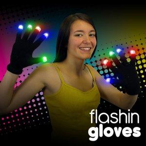 Light up led gloves